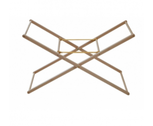 Universal Wooden Moses Basket Stand-Natural