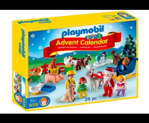 1.2.3 Advent Calendar Christmas on the Farm