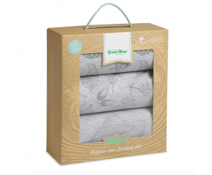 Wild Cotton Organic Moses/Pram Bedding Set