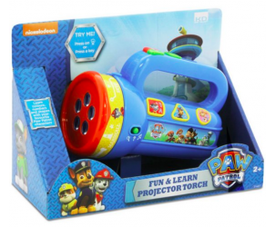 Paw Patrol Torch Projector Torch