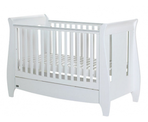 Lucas Fixed Side Sleigh Cot Bed/Sofa