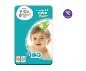Comfort & Protect Size 4 Nappies