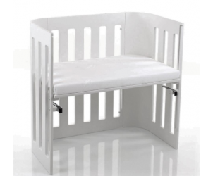 Trend Bedside Cot with Mattress