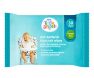 Asda Little Angels Anti Bacterial Highchair Wipes Reviews