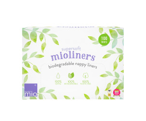 Supersoft mioliners (biodegradable nappy liners)