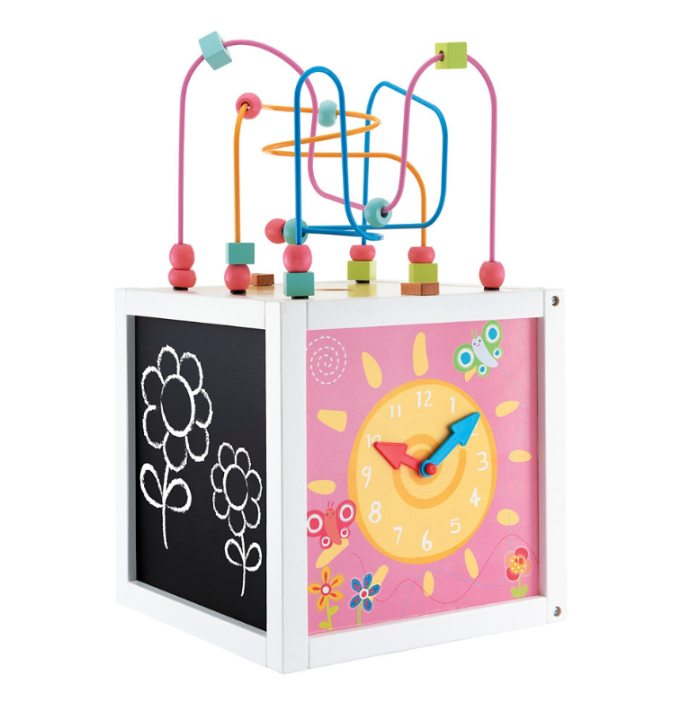 Early Learning Centre Wooden Activity Cube Reviews