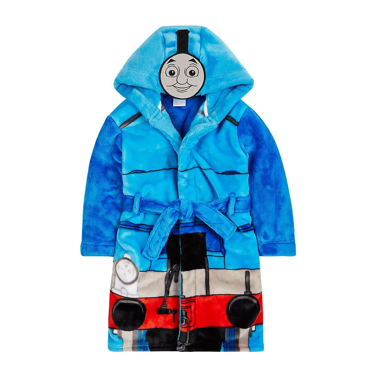 Boys Thomas Tank Engine Dressing Gown Bath Robe Age 2-3