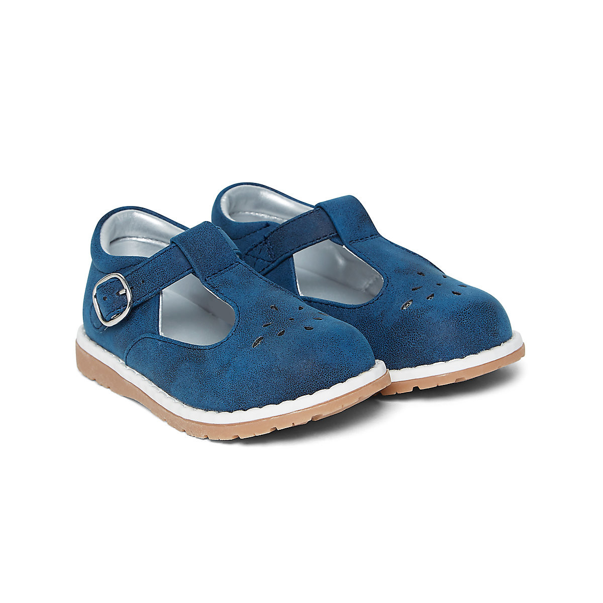 Mothercare First Walkers Navy T-bar