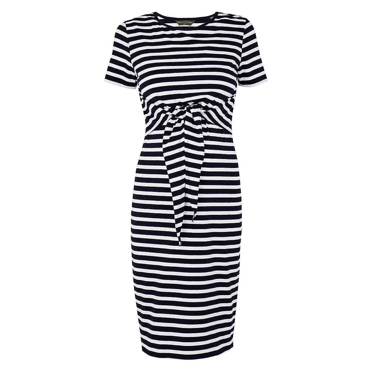 162858ea5793a Blooming Marvellous Navy Striped Nursing Dress - Reviews