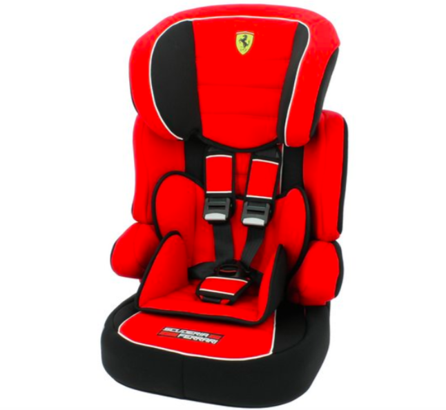 Ferrari Beline SP Group 1-2-3 Car Seat