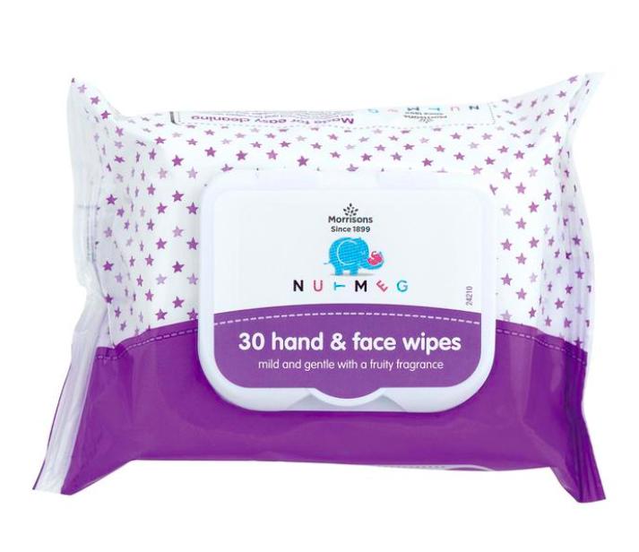 Morrisons Nutmeg Fragranced Baby Wipes