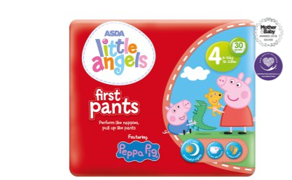 Admirable Asda Little Angels Peppa Pig First Pants Size 4 Reviews Gmtry Best Dining Table And Chair Ideas Images Gmtryco