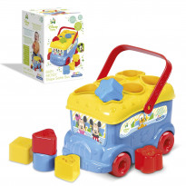 Mickey And Friends Shape Sorter Bus