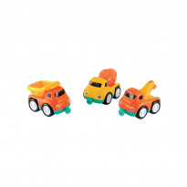Construction Vehicle Magnetic Trio Set