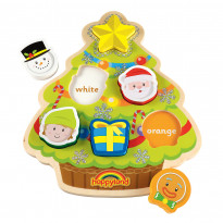 Happyland Wooden Christmas Puzzle