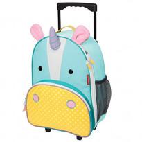 Zoo Rolling Kids Luggage - Unicorn