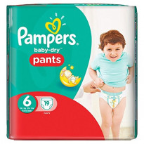 Baby dry pants size 6