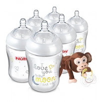 Natural touch 270ml bottles with snoozie