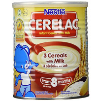 Cerelac 3 cereals with milk