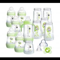 Large easy start baby bottle starter set