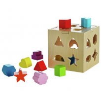 PlaySmart wooden shape sorter