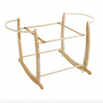 Deluxe rocking moses basket stand