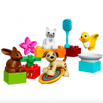 Duplo family pets