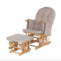 Recline Glider Chair and Stool