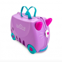 Ride On Suitcase : Cassie the Cat Lilac