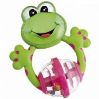Teething Rattle Frog