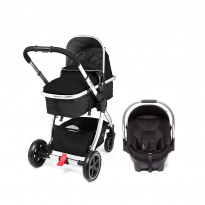 4-Wheel Journey Chrome Travel System