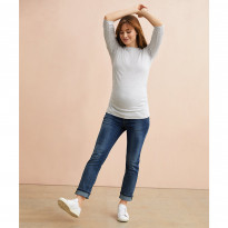 Over The Bump Straight Maternity Jeans