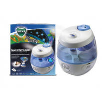 VUL575 Sweet Dreams Cool Mist Humidifier with Image Projector