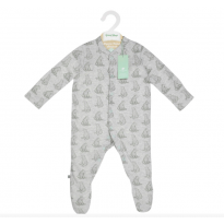 Wild Cotton Organic Sleepsuit Bear