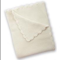 Baby Boutique Baby Garter Stitch Blanket