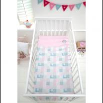Crib Coverlet-Tweet Dreams