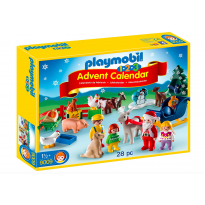 1.2.3 Advent Calendar Christmas on the Farm