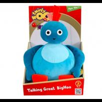Talking Great Big Hoo Soft Toy