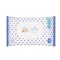 Sensitive Cotton Soft Baby Wipes 0+ Months