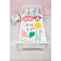 Minnie Mouse & Friends Reversible Toddler Duvet Cover