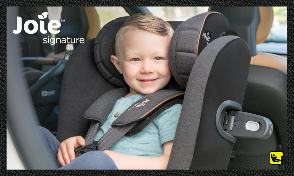 baby test car seat iquest signature joie isize
