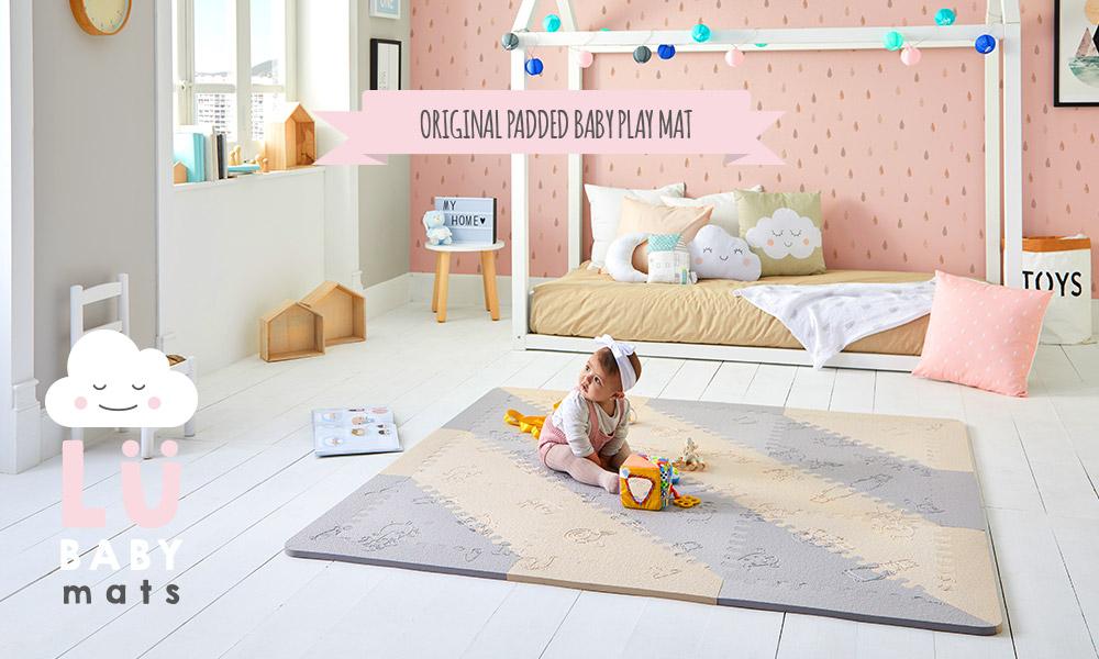 padded baby playmat LU Babymats