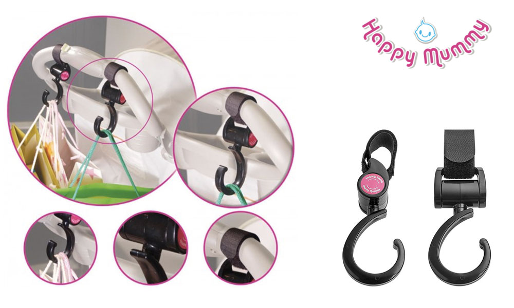 Pushchair hook from Happy Mummy
