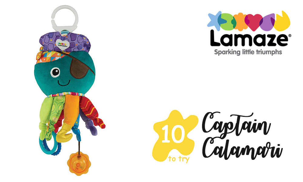 Captain calamari from Lamaze