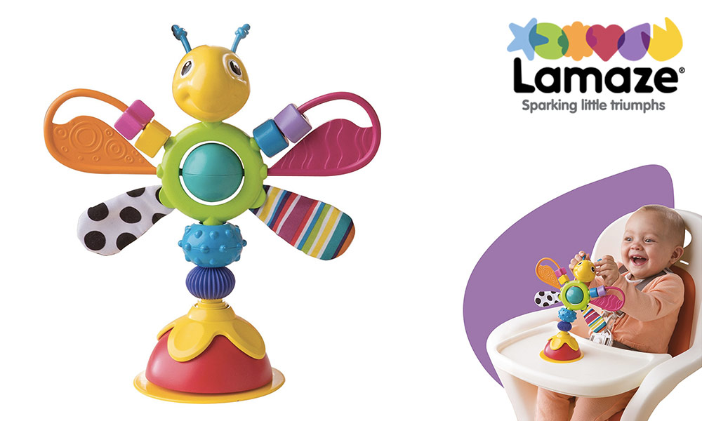 Freddie The Firefly Highchair Toy from Lamaze