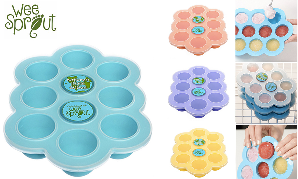 Try a baby food freezer tray for free!